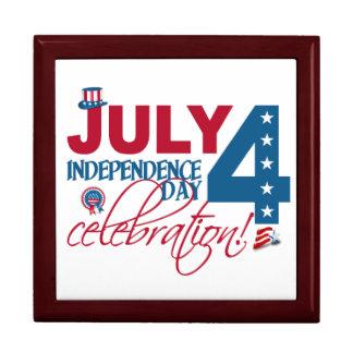 7月4日のお祝いのギフト/ジュエリー/装身具箱 ギフトボックス