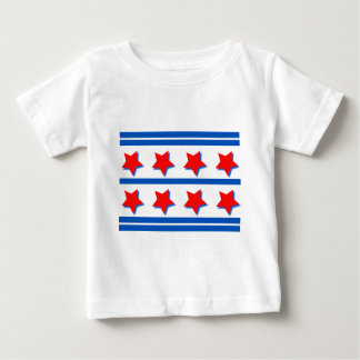 7月4日のお祝いのデザイン ベビーTシャツ