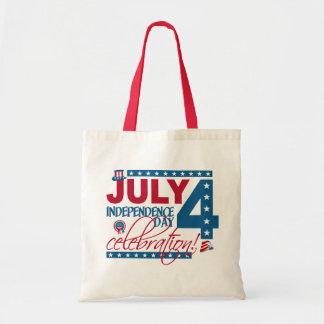 7月4日のお祝いのバッグ-スタイル及び色を選んで下さい トートバッグ