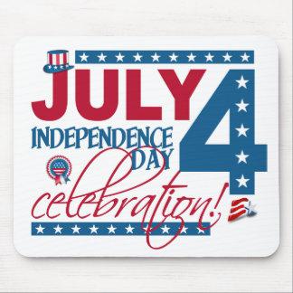7月4日のお祝いのmousepad マウスパッド