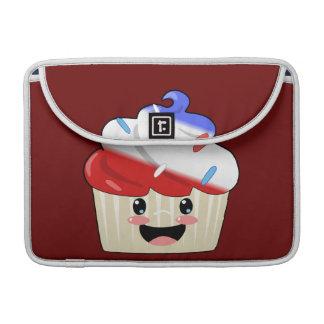 7月4日のカップケーキ MacBook PROスリーブ