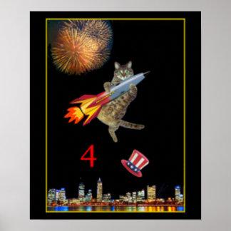 7月4日のロケットの子猫 ポスター