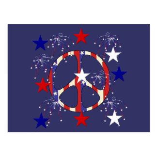 7月4日の平和 ポストカード