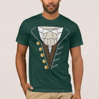 7月4日の独立記念日のタキシードのCravatのTシャツ Tシャツ