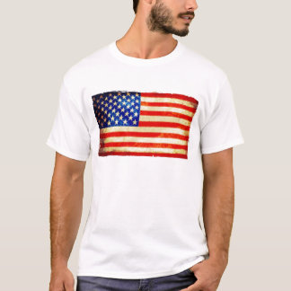 7月4日の米国旗のワイシャツ-米国 Tシャツ