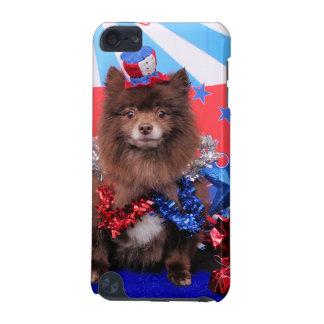 7月4日-ポメラニア犬-フレッド iPod TOUCH 5G ケース