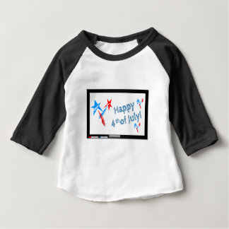 7月4日#2 ベビーTシャツ