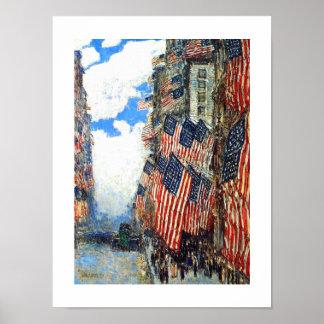 """""""7月4日""""、c.1916。 ファインアートポスター ポスター"""