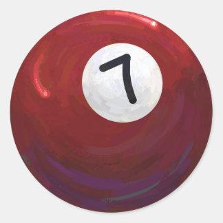 7球 ラウンドシール