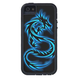 7罪シリーズ青いドラゴンのiPhone 5の箱 iPhone SE/5/5s ケース