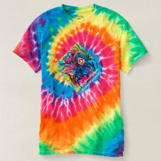 70年代のチタニウム染料の回転のTシャツ Tシャツ