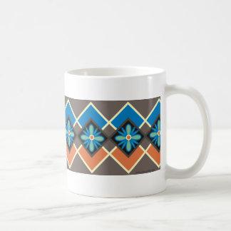 70年代のレトロのモチーフ コーヒーマグカップ