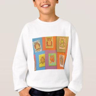 70年代のヴィンテージのフクロウ スウェットシャツ