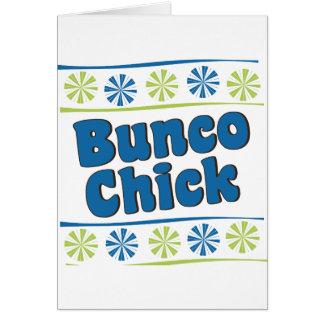 70年代のBuncoのひよこ カード