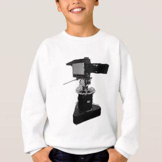 70年代または80年代からの放送TVカメラ スウェットシャツ