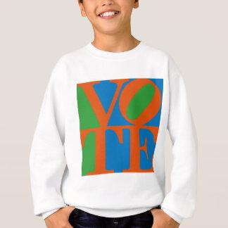 70年代愛から改造される投票 スウェットシャツ