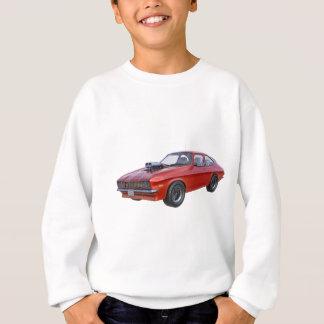 70年代赤い筋肉車 スウェットシャツ