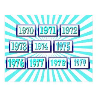 70年代 ポストカード