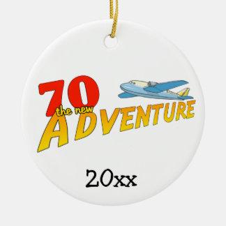70新しい冒険の飛行機の記念品のオーナメント セラミックオーナメント