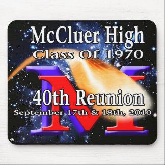 「70第40懇親会のマウスパッドの一流McCluer マウスパッド