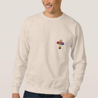 [700]バラ色の十字(ばら色のCroix) スウェットシャツ