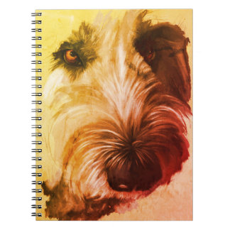 70's Labradoodle Notebook - original art ノートブック