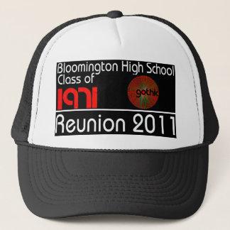「71の懇親会の帽子のクラス キャップ