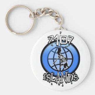 7107の島フィリピン キーホルダー