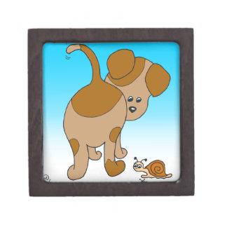 713匹の犬のかたつむりの蟻の漫画 ギフトボックス