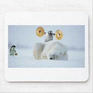 717愚か者pinguin マウスパッド