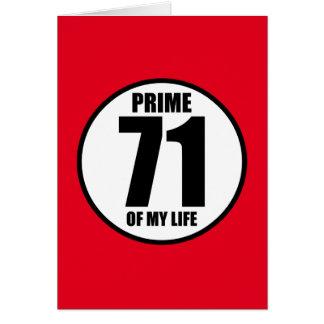71 -私の生命の全盛 カード
