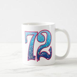 72の年齢の激賞 コーヒーマグカップ