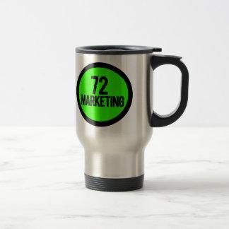72個の販売のステンレス鋼の絶縁されたマグのコップ トラベルマグ
