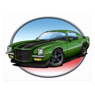 72緑B Camaro.png ポストカード
