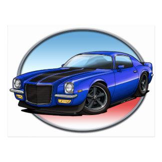 72青いB Camaro.png ポストカード
