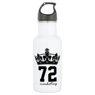 72marketing royalty water bottle reusable gym ウォーターボトル