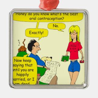 733最も最高のな口頭避妊の漫画 メタルオーナメント