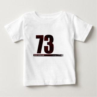 73 -最も最高のな数 ベビーTシャツ