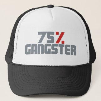 75%のギャング キャップ