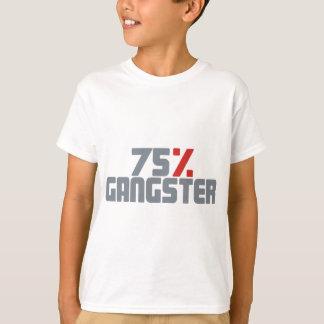 75%のギャング Tシャツ