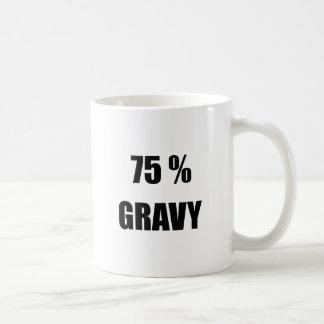 75%のグレービー コーヒーマグカップ