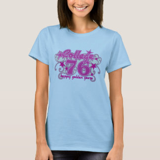 76の大学 Tシャツ