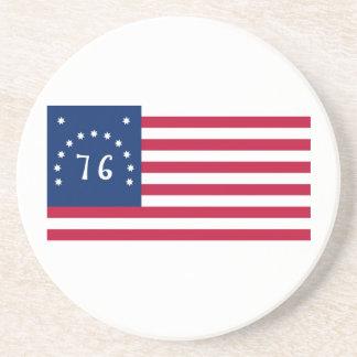 76の米国ベニントンの旗の精神 コースター