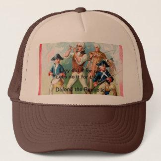 """""""76""""の精神の野球帽-それらは私達のためのそれをしました キャップ"""