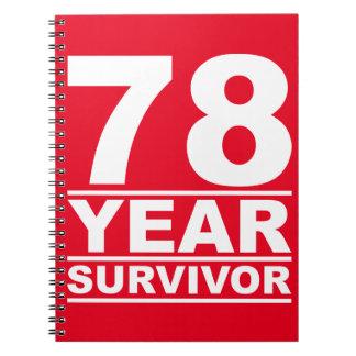 78年の生存者 ノートブック