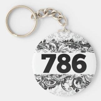 786 キーホルダー