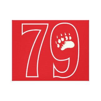 79 (1979年) キャンバスプリント
