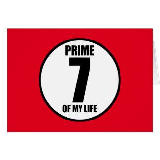 7 -私の生命の全盛 カード