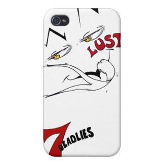 7 Deadlies -渇望のiphone 4ケース iPhone 4 ケース