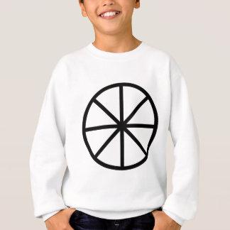 8つのスポークの車輪 スウェットシャツ